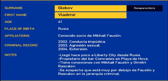 Vladimir glebov LCPD