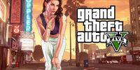 Grand Theft Auto V: Una casa con jardín y un perro llamado Skip