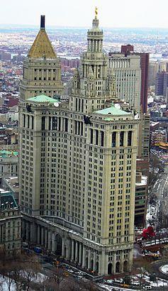 Archivo:ManhattanMunicipalBuilding-RealLife-Aerial.jpg