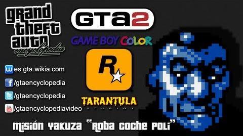 "Grand Theft Auto 2 (GBC) - Misión Yakuza ""Roba coche poli"""