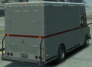 Boxville detrás GTA IV