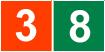 Logos de líneas 3 y 8