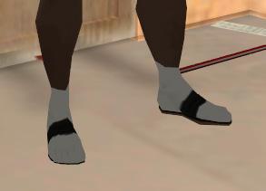 Archivo:Sandalias y calcetines.jpg