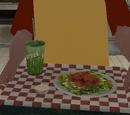 Menú de ensalada