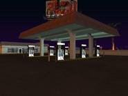Playa de combustible gasolinera de The Strip