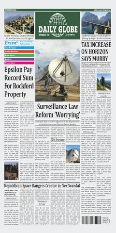 Archivo:La portada del Daily Globe.png