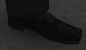 Zapatos estilo Oxford negros GTA IV