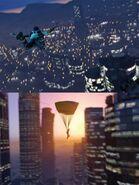 Paracaidismo en GTA V