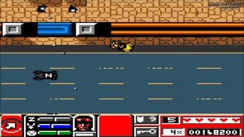"""Grand Theft Auto 2 (GBC) - Misión Piraos """"Radio Za-Za"""""""
