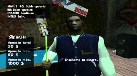 Grand Theft Auto San Andreas The Color of the Money Easter Egg