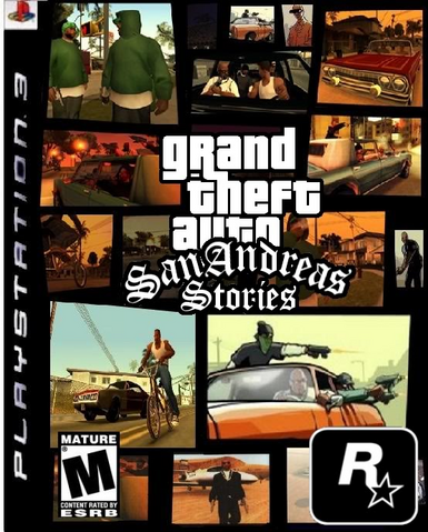 Archivo:Portada de GTA San Andreas Stories.PNG