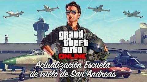 Grand Theft Auto Online actualización Escuela de vuelo de San Andreas
