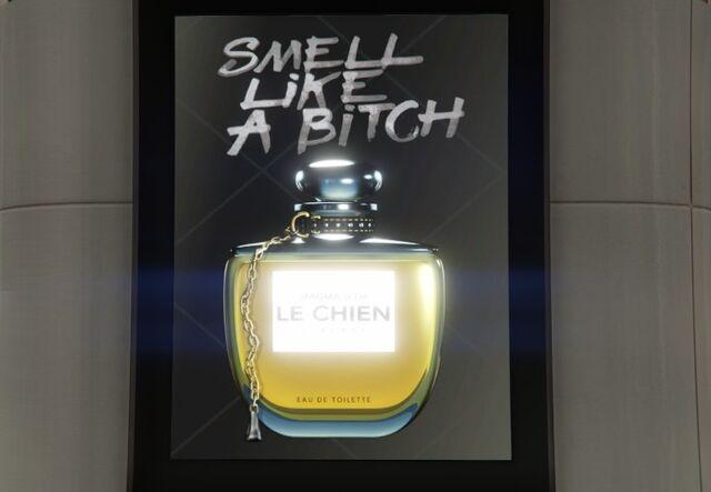 Archivo:Cartel de Le Chien.jpg