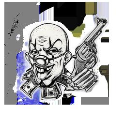 Archivo:Recompensa payaso y pistola.png
