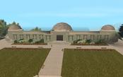 Fachad del observatorioVB