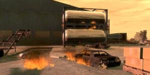 Explosión en una gasolinera (LT)