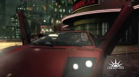 Grand Theft Auto IV - Commercial with Jeremy St. Ives
