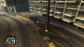 Rodeo hotel estacionamiento