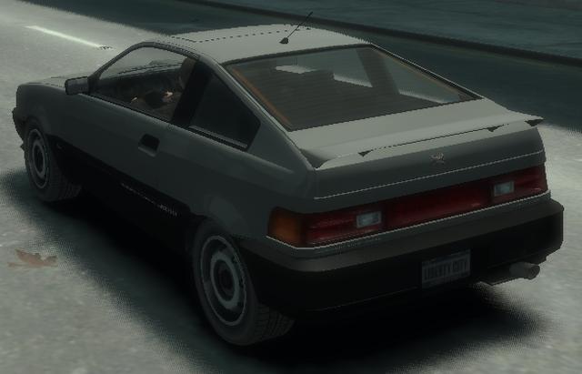 Archivo:Blista Compact detrás GTA IV.png