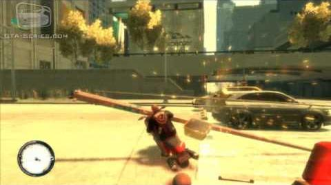 GTA IV The Lost and Damned - Angus Motorcycle Theft - Short Stay Parking