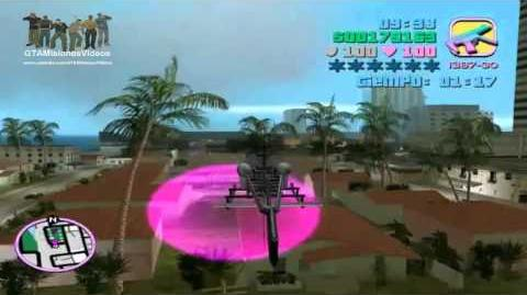GTA Vice City - Control Del Helicoptero De Little Haiti