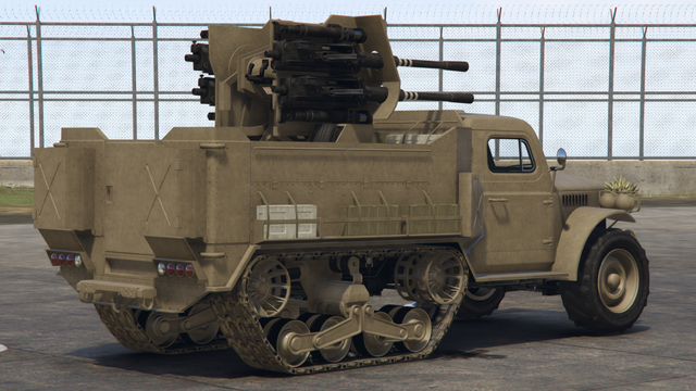Archivo:Halftrack-GTAO-Cañón-customizado 20mm-atrás.png