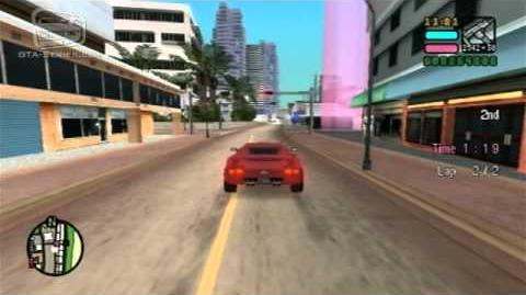 GTA Vice City Stories - Supercharged Circuit - Turismo Race 9