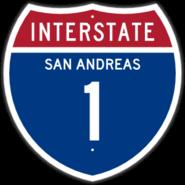 Interstate 1 Shield