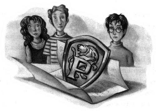 Resultat d'imatges de harry potter y la orden del fenix ilustraciones