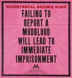 Ministerial Decree 184