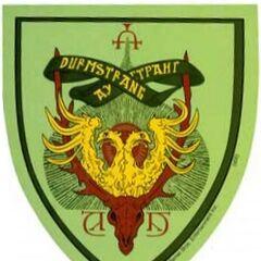 El escudo de Durmstrang
