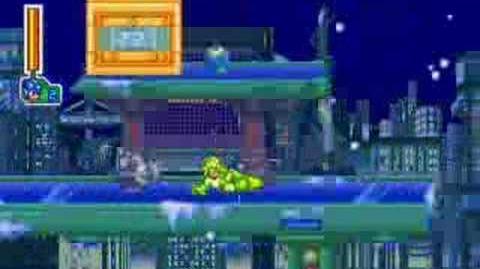 Megaman 8 Frostman
