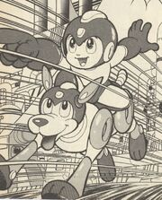 Rush-y-Rockman-Rockman4-manga