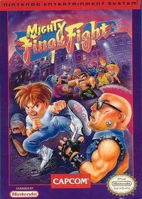 Mighty Final Fight (American cover).jpg