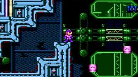 Mega Man The Wily Wars (Mega Man 3) - Spark Man