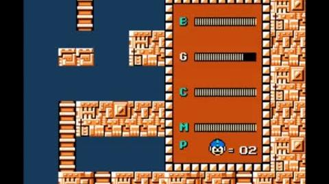 Mega Man 1 - How to get the Magnet Beam in Elec Man's stage-0