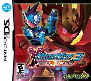 Portada de Mega Man Star Force 3 Red Joker