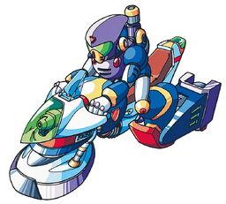 Pandilla de Robots con Vehículos Modificados
