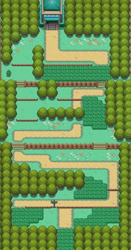 Mapa de la ruta 1