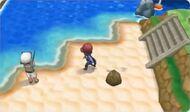 Kalm en la playa