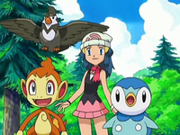 Archivo:EP550 Maya con Chimchar, Staravia y Piplup (2).png