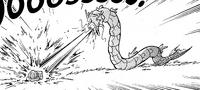 Gyara usando Hidrobomba contra Bulbasaur.png