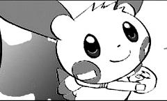 Archivo:Minun de Helio (manga).jpg