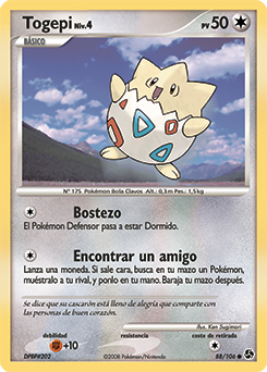 Carta de Togepi