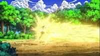 EP669 Pikachu de Ash usando Placaje eléctrico contra ash.jpg