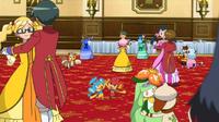 EP908 Entrenadores y Pokémon bailando (1)