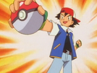 EP003 Ash ha capturado un Caterpie
