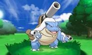 Mega-Blastoise en combate