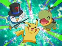 Archivo:EP508 Piplup, Pikachu y Turtwig en la fiesta.png