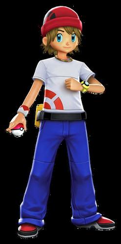 """Ilustración de Nacho en <a href=""""/wiki/Pok%C3%A9mon_Battle_Revolution"""" title=""""Pokémon Battle Revolution"""">Pokémon Battle Revolution</a>"""
